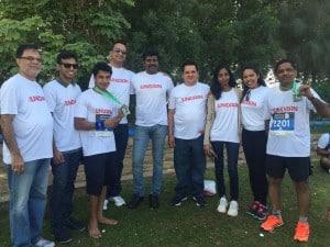 UNIDAAN Participating in Dubai Marathon 2016