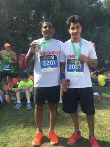 UNIDAAN Participating in Dubai Marathon 2016